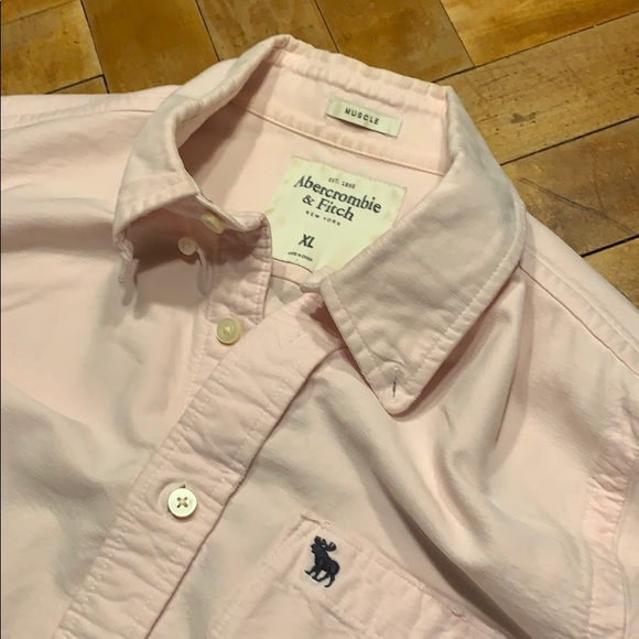 Abercrombie & Fitch Other - Men's A&F distressed oxford shirt